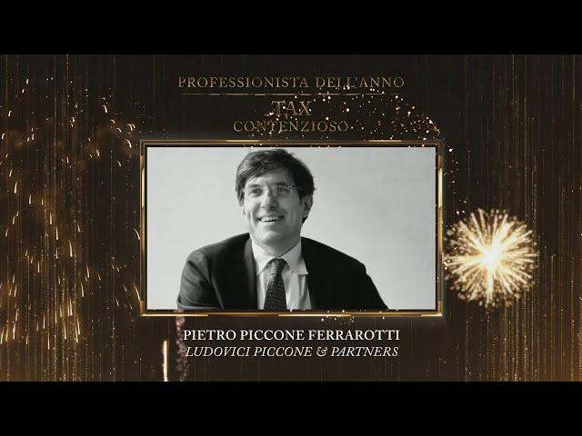 Pietro Piccone Ferrarotti, Ludovici Piccone & Partners - TopLegal Awards 2020