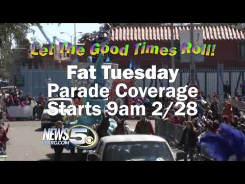 Mardi Gras Fat Tuesday 2017 Parade Promo - Mobile, AL