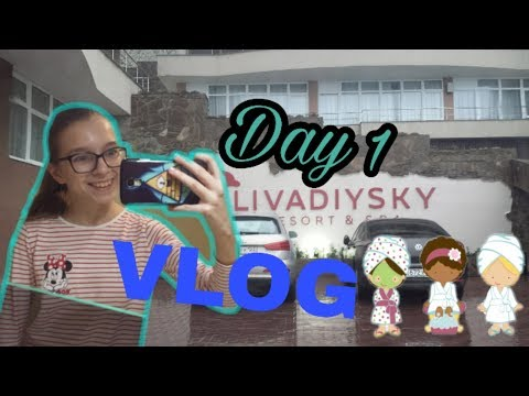 "Vlog|Спа Отель ""Ливадийский""|Обзор СПА|Ялта 2018"