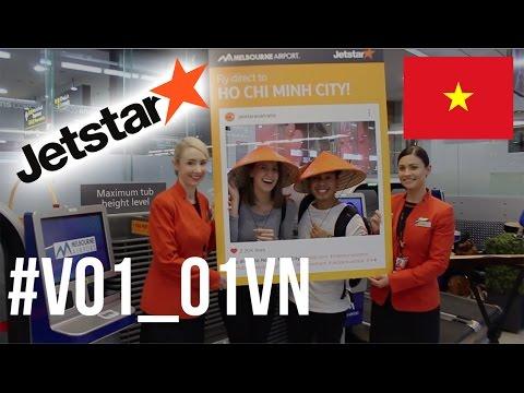 JETSTAR'S FIRST DIRECT FLIGHT TO HO CHI MINH (Vietnam Travel Vlog)