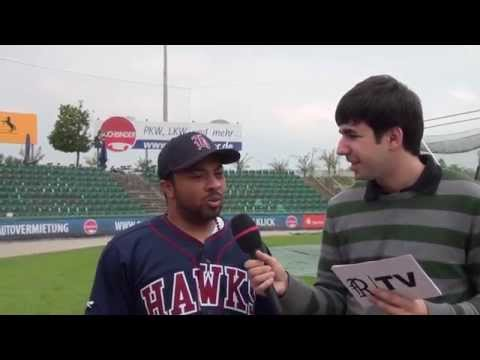 Pre-Game Interview - Clarence Brown (Tübingen Hawks)