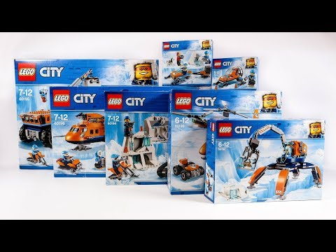COMPILATION ALL LEGO City Arctic 2018
