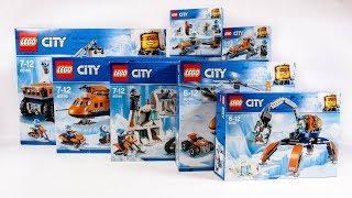 COMPILATION ALL LEGO City Arctic 2018