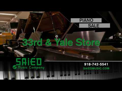 This is Final Week for the Saied Music Stores Big Piano Sale