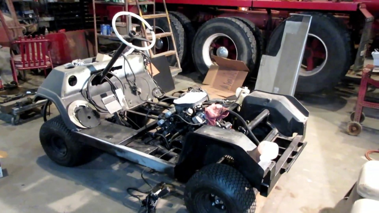 Yamaha G1 Part 18: We get started working on a fuel tank