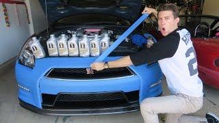 Taping my GTR?! - Track Prep!