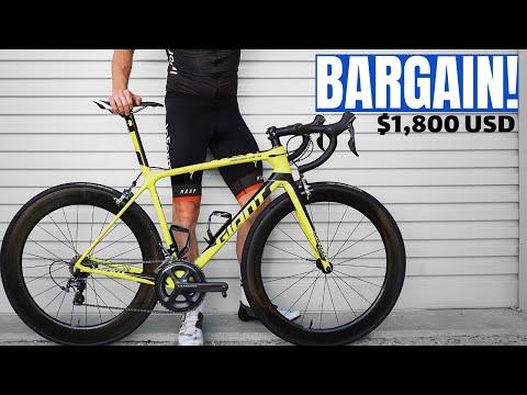 My New Giant TCR Race Bike Was DIRT CHEAP! (week 8)