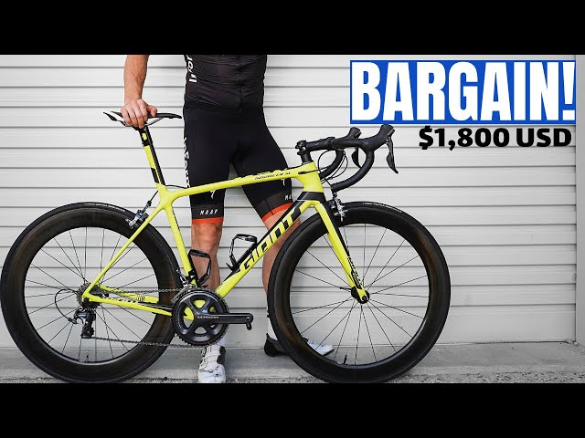 My New Giant TCR Race Bike was DIRT CHEAP! (week 8)