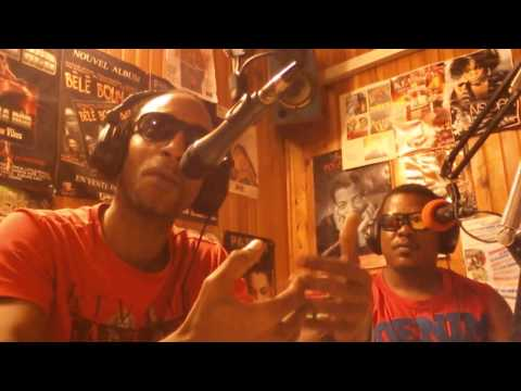 Genkai et MSNJA sur Radio Fréquence Caraibes