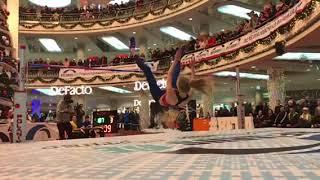 Мария Жодик 1.87 с 3-ей попытки - замедленно