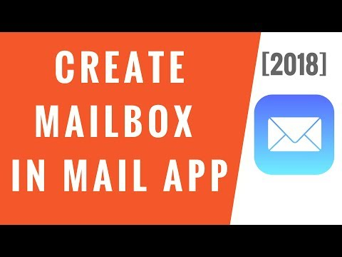 Create Mailbox in Apple's Mail App on iPhone [2018]