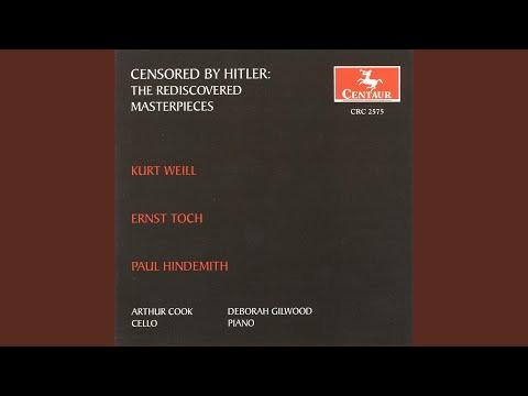 Cello Sonata: I. Allegro ma non troppo - YouTube
