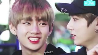taekook vkook moments defeat the night pt br