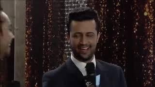Atif Aslam Funny Punjabi Interview At Lux Style Awards 2017