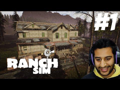 Ranch Simulator Gameplay  Part 1| Hindi Gameplay |