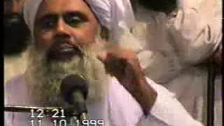 Molana Idrees Dahri Sahab Khulfae Rashdeen Larkana 1999 Part 1 By irfan laghari