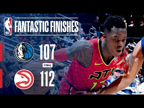 The Mavericks and Hawks Go Down to the Wire in Atlanta | December 23, 2017