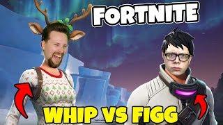 WHIPPIT vs FIGGEHN I FORTNITE *POLAR PEAK* Playground