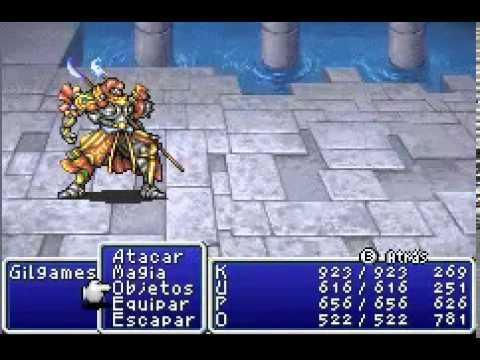 Jefe opcional #15 - Gilgamesh