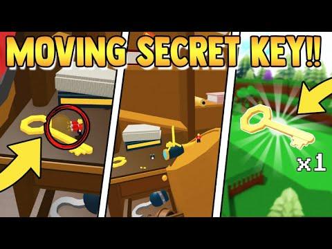*MOVE* the SECRET KEY!!   Build a Boat for Treasure ROBLOX