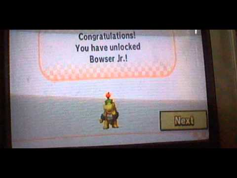Mario kart wii how to unlock bowser jr by noah youtube - Mario kart wii voiture ...