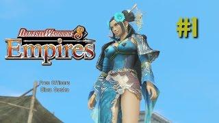 Dynasty Warriors 8 Empires | Empire Mode | (Sima Sasha) #1