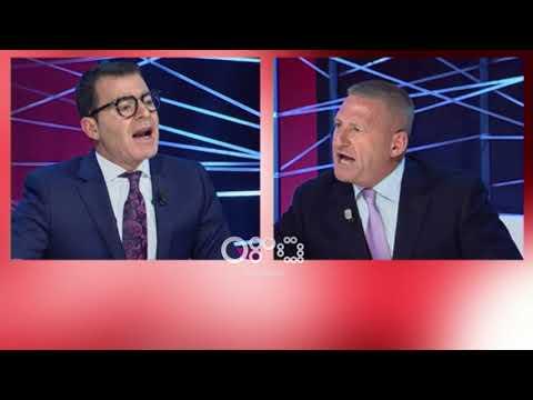 """Ora News - Përplasje dhe akuza të forta/ Ndoka i """"përplas"""" tavolinën deputetit Hyseni"""