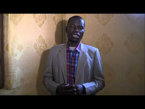 Interview with Governor of Western Equatoria State (South Sudan)
