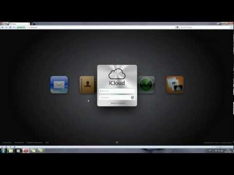 วิธีใช้งาน iCloud