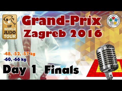 Judo Grand-Prix Zagreb 2016: Day 1 - Final Block