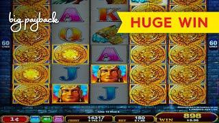 18X MULTIPLIER, WOW! Mayan Chief Great Stacks Slot - HUGE WIN!
