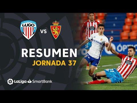 Lugo Zaragoza Goals And Highlights