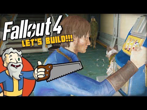 """""""THE VAULT-TEC WORKSHOP CASINO & RESORT!!!"""" MODDED Fallout 4 LET'S BUILD - 1440p HD PC Gameplay"""