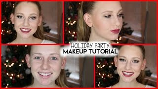 Holiday Party Makeup Tutorial ! Thumbnail