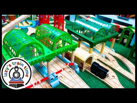 Thomas and Friends DOUBLE KNAPFORD STATIONS! MOST FRUSTRATING TRACK EVER.