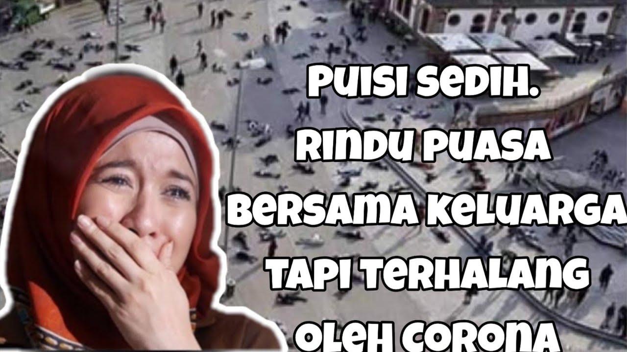 Puisi sedih Corona || Menyambut bulan suci Ramadhan - YouTube
