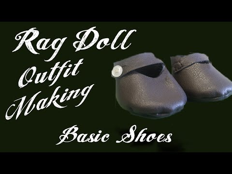 Basic Shoes - Rag Doll Outfit Making