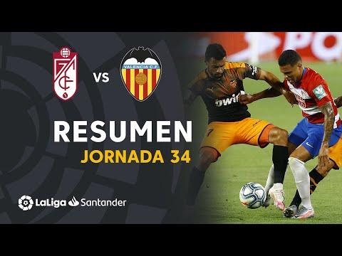 Resumen de Granada CF vs Valencia CF (2-2)