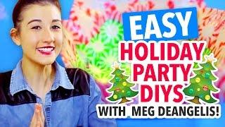 Meg DeAngelis's 3 Holiday Party DIYs - HGTV Handmade