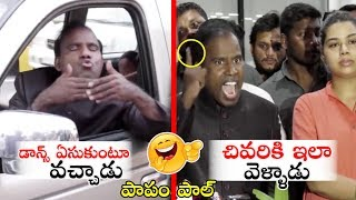 KA Paul FULL Comedy and Action  FUNNY Entry  Fight With Media Reporter  Political Qube