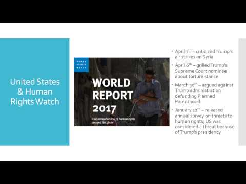 Human Rights Watch & The United States podcast