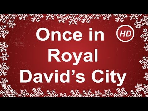 Once in Royal David's City with Lyrics | Traditional Christmas Carol | Children Love to Sing