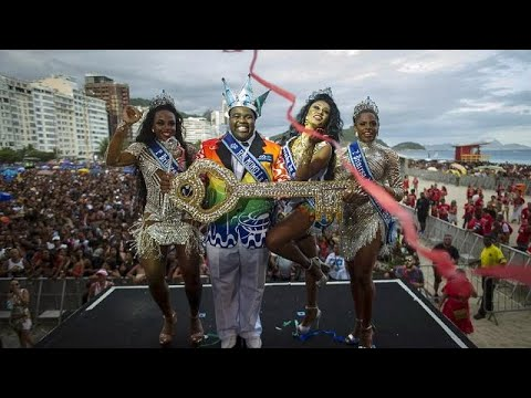 Colour, culture and chaos at famous Rio carnival in Brazil [No Comment]