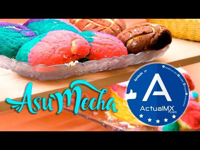 Prueba las mejores conchas rellenas de #CDMX en @A'su Mecha