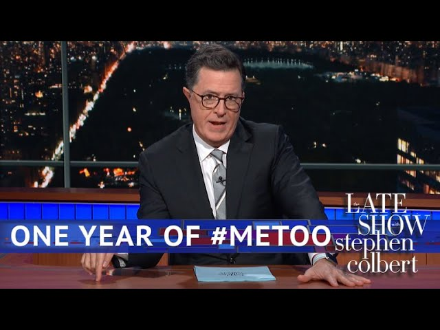 Les Moonves, Stephen Colbert and Accountability