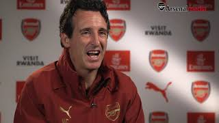 Emery: We're moving forward tactically