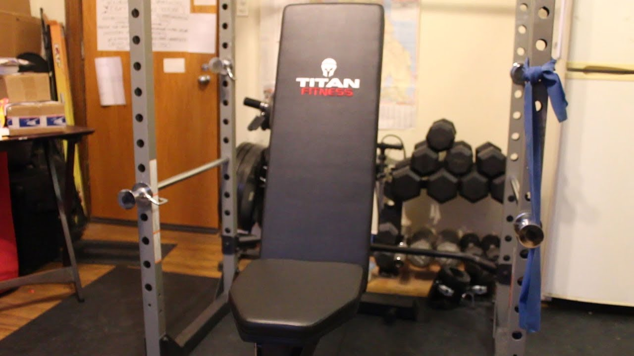 My titan fitness adjustable incline bench unboxing and assembly