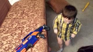 Ethans Nerf Machine Gun
