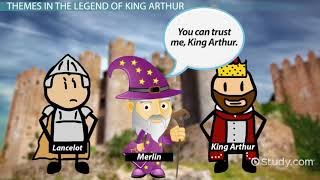 The Legend and Death of King Arthur