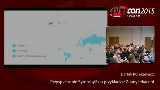 Bartek Kuleszewicz: Przyspieszenie Symfony2 na przykładzie ZnanyLekarz.pl
